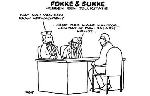 Fokke-Sukke-Sollicitatie